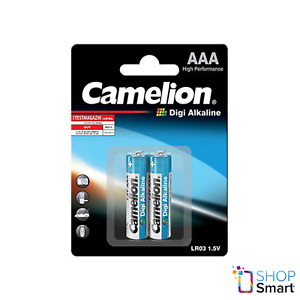 2 Camelion AAA Digi Alcaline Piles LR03 MN2400 AM4 E92 1.5V 2BL Exp 2022 Neuf