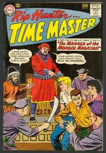 Rip Hunter Time Master #13 - Menace Of The Mongol Magician - DC (1963) FN+