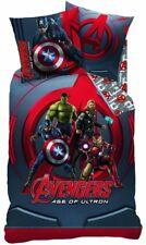 Avengers Wende Bettwäsche Set Linon 135x200 80x80 Iron Man Captain America