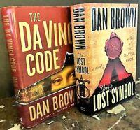 Dan Brown, A Combo of Super Suspense Novels:The Da Vince Code & The Lost Symbols