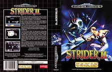 Strider II Sega Mega Drive PAL Replacement Box Art Case Insert Cover Repro