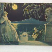 Vintage Morris & Bendien THE LOVE SONG PRINT 9802 Great Britain Litho Serenade