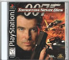 Video Game - Sony PlayStation - 007 TOMORROW NEVER DIES - Disc & Manual