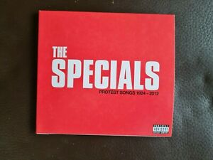 The Specials - Protest Songs 1924 - 2012 - Deluxe CD - Signed Edition  Brand New