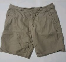 The North Face Men's XL Brown Shorts Hiking Outdoor  100% Cotton