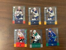 2019-20 TIM HORTONS UD CLEAR CUT PHENOMS LOT **U PICK A CARD TO COMPLETE SET**
