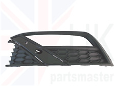 VW POLO GTI 2015 - 2017 NEW GENUINE FRONT BUMPER LOWER GRILL TRIM BLACK LEFT N/S
