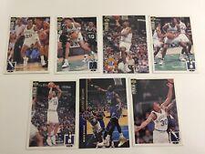 Upper Deck NBA Trading Cards Sammelkarten 7x Dallas Mavericks 94