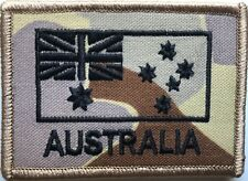 DPDU Army Australia National Flag Patch Subdued with Hook Backing