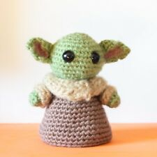 The Child baby yoda crochet plush fan art