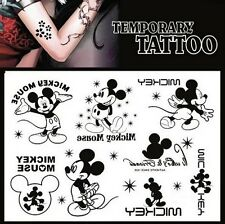 FD978 Removable Waterproof Temporary Tattoo Body Stickers ~Sweet Mouse~ 1pc