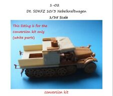 "MGM 01-02 1/35 Resin CONVERSION KIT for SDKFZ 10/3 Nebelkraftwagen ""foggy car"""