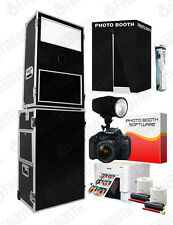 Complete Turn-Key Business Portable Photo Booth System w/ Website by FireBooth