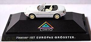 Mazda MX 5 Roadster Typ NA Corso 1989-98 weiß white 1:87 Herpa PC