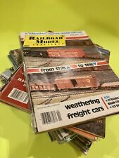 Railroad Model Craftsman Magazine ~ Lot of 30. Range from 1979 - 1991