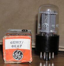 1 NOS GE 6EM7 / 6EA7 Vacuum Tube ~ Tests Good
