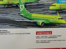 1/500 Herpa S7 Airlines Embraer E170 530866