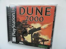 Dune 2000 (Sony PlayStation 1, 1999) Game Disc+Case