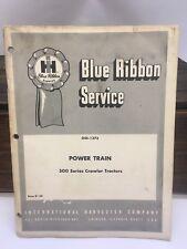 International Harvester 1966 GSS-1373 Power Train Blue Ribbon Service Manual