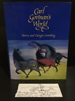 Carl Gorman's World by Henry & Georgia Greenburg SIGNED w/ Carl Gorman Art