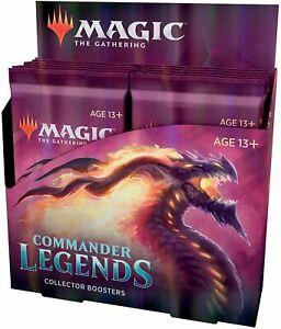 Magic the Gathering: MTG Commander Legends Collector Booster Box - New & Sealed