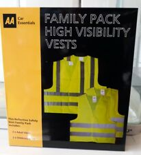 AA Family Pack High Visibility Vests New
