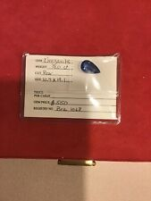 brazanite 9.0 carat pear cut gemstone
