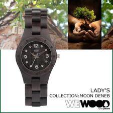 WeWOOD Womens Watch Moon Deneb Black Wooden Watch Eco WeWood Watch ladies watch