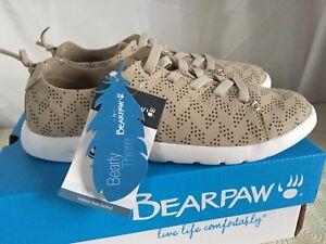 Bearpaw Women's Summer Trainers Beige Lightweight Size UK 4 RRP £48
