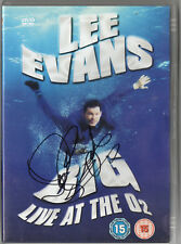 LEE EVANS - Signed DVD - COMEDY - BIG LIVE AT THE O2