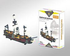 Nano block Building Blocks Pirates of Caribbean pirate ship models 780PCS