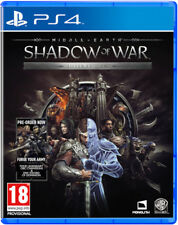 Middle Earth:Shadow of War - Silver Edition- PS4
