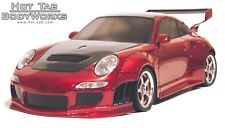 RC Body Shell 1/10 scale model analog of Porsche 997 (GT version)