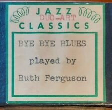 BYE BYE BLUES EXPRESSION ADDED DUO-ART RECUT REPRODUCING PIANO ROLL