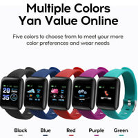 Waterproof Smart Fitness Band w/ Step Counter, Calorie Counter, Pedometer Watch