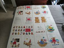 New listing Vip Cranston Teddy Bears When I Grow Up I Want To Be Pillow Book Fabric Craft 2y