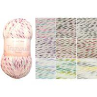 James C Brett Tranquil Chunky Acrylic Wool Yarn Knitting Crochet Craft 100g Ball