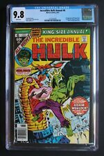 Incredible Hulk Annual #6 1st AYESHA Kismet 1977 Guardians Galaxy 2 CGC NMMT 9.8
