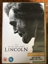 Daniel Día Lewis Lincoln ~ 2012 SPIELBERG Presidente Abraham Biografía Drama GB