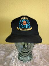 Vintage 1991 NCAA Final Four Indianapolis Snapback Hat Black
