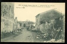 France, La Grande Guerre, WWI, Haraucourt Ruins (unmailed1914-15(militaryL#70