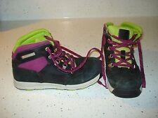 TIMBERLAND Boys Girls Boots Size 2 L@@K !!! GREEN BLACK PURPLE