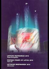 Letland  Latvia   jaarcollectie yearset 2010     postfris/mnh
