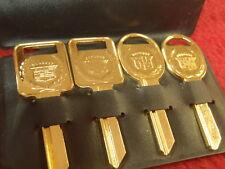 NOS GM CADILLAC GOLD KEYS C D 68 72 76 80 87 88 89 90 DEVILLE SEVILLE ELDORADO