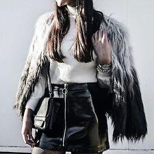 Zara Black Pvc Mini Skirt Size SMALL BNWT