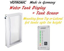 Votronic Water Tank Level Gauge Monitor Meter Sensor for Tanks up to 1m Deep