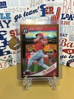 2018 Panini Donruss Optic #121 Mike Trout Los Angeles Angels BRONZE