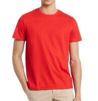 Calvin Klein Mens T-Shirt Red Size Large L Jersey Knit Crewneck Tee $35 343