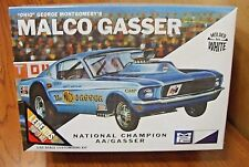MPC OHIO GEORGE MONTGOMERY'S MALCO GASSER 1/25 Scale Model Kit (molded in white)