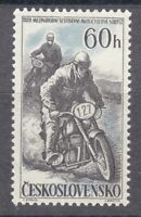 Czechoslovakia 1957 MNH Mi 1034 Sc 815 International Motorcycle Race **